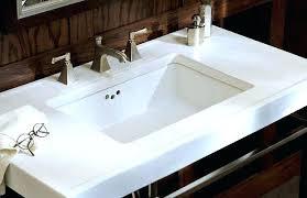 white rectangular undermount bathroom sink rectangular bathroom