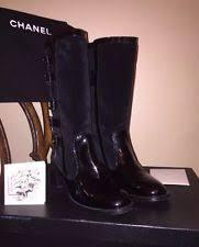 womens biker boots size 12 chanel s biker boots ebay
