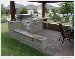 picturesque backyard kitchen wall picture