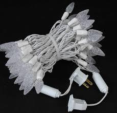 commercial c6 led 70 light white white wire strawberry mini