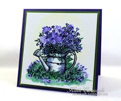 handmade watercolor cards impressions watering can cards impressions watercolor