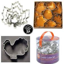 celebrate it cookie cutters fall desserts made with our top picks bread pans and cookie cutters