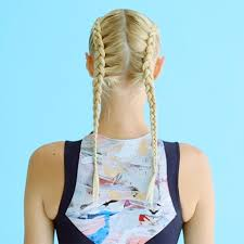 Gym Hair How To Double Dutch Braids Furthermore