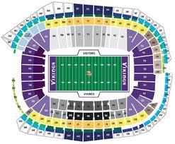 us bank stadium seating chart new vikings stadium guide