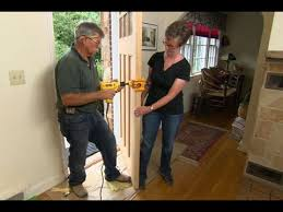 How To Hang An Exterior Door Not Prehung How To Hang A New Front Door In An Existing Frame This House