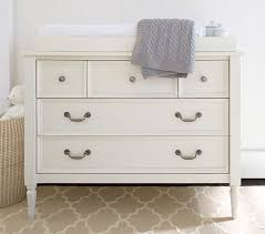 Cheap White Changing Table Blythe Dresser Topper Set Pottery Barn