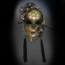 venetian jester mask luxurious venetian jester mask gold black tassel shopbeyondstore