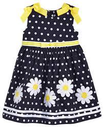 blueberi boulevard dot print daisy dress little girls 4 6x