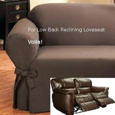 Low Back Leather Sofa Recliner Slipcover Leather Sofa Seat Reclining 995 3 Cover For