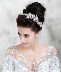 wedding headdress buy wholesale wedding headdress rhinestone pearl