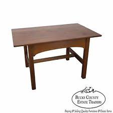 Stickley Mission Sofa by Oak Arts U0026 Crafts Mission Style Antique Tables Ebay