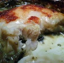 recette de filet de colin a la florentine