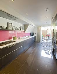 galley kitchen extension ideas bespoke kitchen sourcebook part 5