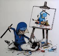graffiti art sketches with color wall graffiti art