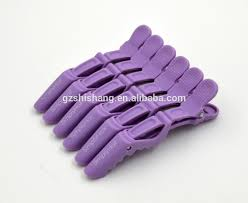 crocodile hair factory supply alligator hair crocodile clip for salon use