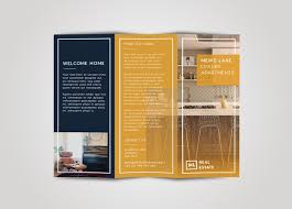 Luxury Brochure Design Inspiration - tri fold brochure free indesign template