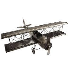 iron airplane sculpture pier 1 imports