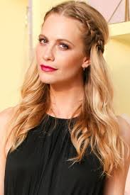 how to braid hair with middle part easy wavy braid plaits hairstyles overnight