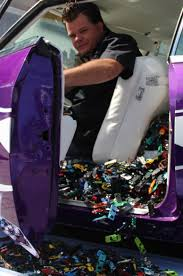 Car Upholstery Las Vegas History U0027s U0027counting Cars U0027 Donating Thousands Of Toy Cars To Las