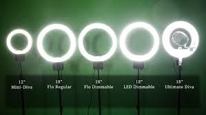 diva ring light nova nova ring light which ring light is right for you big city lights
