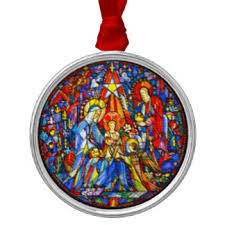 jesus stained glass ornaments keepsake ornaments zazzle