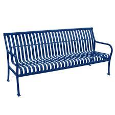 paris 4 ft green buddy bench 460 343 8001 the home depot