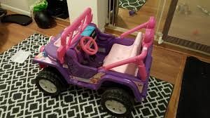 barbie power wheels check out my jurassic park power wheels jeep i made for my son a