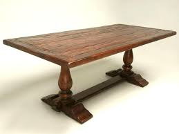 reclaimed trestle dining table reclaimed trestle table nhmrc2017 com