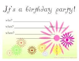 free invitation cards invitation cards for birthdays niengrangho info