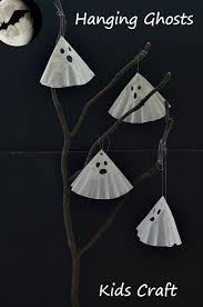 Halloween Crafts For Classroom - simple and cute ghost craft for kids perfect as a halloween craft