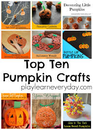 Salt Dough Halloween Crafts Top Ten Pumpkin Crafts Play And Learn Every Day