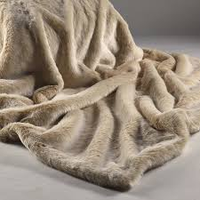 fur throws for sofas beige faux fur throw with cream suedette reverse to use on sofas
