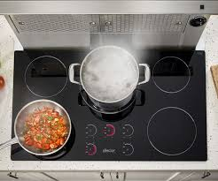 How Induction Cooktop Works Dacor Rnct365b 36 Inch Induction Cooktop With 5 Element Zones