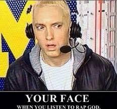 Eminem Rap God Meme - eminem love blissfulness pinterest sexy boys and the flame