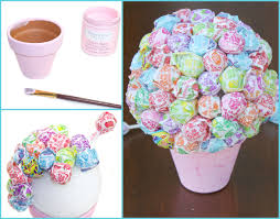 diy bouquet diy lollipop bouquet a craft in your day