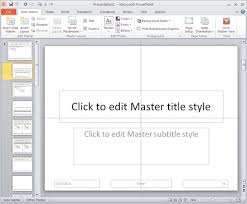 working with slide numbers in powerpoint 2010