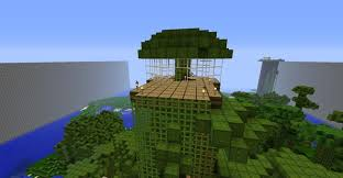 best 20 cool tree houses in minecraft design ideas of jungle