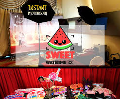 Cheap Photo Booth Rental Sg Cheapest Photo Booth Rental Sweet Watermelon