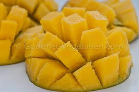cuisiner la mangue comment couper une mangue mon coin cuisine mangue