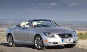 convertible lexus lexus sc roadster review 2001 2009 parkers