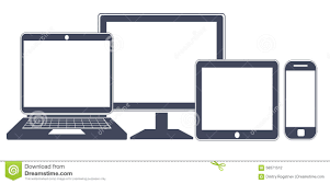 device icons smart phone tablet laptop and desktop computer