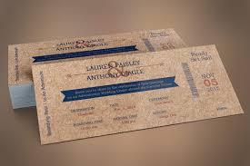boarding pass wedding invitation template cardboard boarding pass invitation template inspiks market