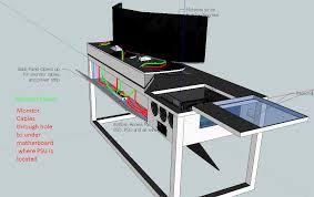 Computer Desk Case Mod Sketchup Pc Desk Mod