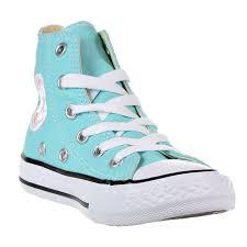 light aqua high top converse converse little boys kids ctas ii high top trainers light aqua 2 5