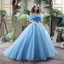 quinceanera dresses aliexpress buy 2017 newest sky blue cinderella quinceanera