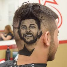 what is the weeknds hairstyle the weeknd hair portraits by rob the original popsugar beauty