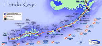 florida shipwrecks map the overseas highway to key florida