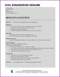 resume format for freshers civil engineers pdf lovely civil engineering resume sles for freshers pdf fresh