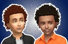 the sims 4 natural curly hair my sims 4 blog kiara24 close curls hair for boys