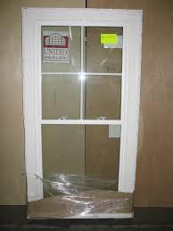 decorating charming hopper reliabilt windows with white frame for